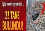 PKK'lılar için hazırlamışlar!