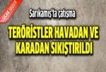 PKK'lılar ile güvenlik güçleri arasında çatışma: 2 asker yaralı