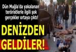 PKK'nın sözde 'özel kuvvet teröristler'i denizden geldi!