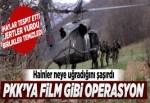 PKK'ya film gibi operasyon