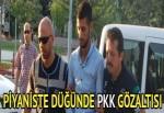 PKK'yı öven şarkılar söyleyen piyanist gözaltına alındı