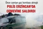 Polis Erzincan'da Cemevine saldırdı