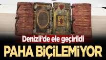 Polis tarihi eser kitapları son anda kurtardı!