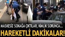 Sakarya'da kimlik soran polise mukavemet!