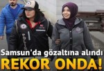 Samsun'da gözaltına alındı