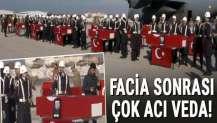 Şehitler için Van Jandarma Filo Komutanlığında tören düzenleniyor…