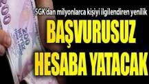 SGK resmen duyurdu: Artık başvurmaya gerek kalmadı, maaş ve aylıklar...