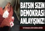 Siirt'te AK Parti Kadın Kolları'na taşlı saldırı.