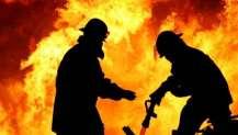 Silivri'de balık restoranında yangın