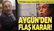 Sinan Aygün, partisinden istifa etti.