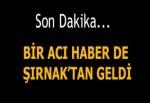 Şırnak'ta bombalı saldırı! 1 asker şehit oldu