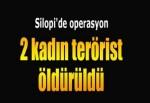 Şırnak'ta operasyon: 2 kadın terörist öldürüldü