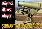Şırnak'taki operasyonda Rus yapımı METİS füzesi ele geçirildi