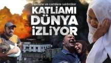 Siyonist İsrail cami ve hastaneleri vuruyor! Katliamı dünya izliyor.