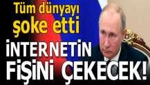 Son dakika: Rusya internetin fişini çekecek!