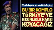 Sözde komutandan küstah çıkış: Türkiye'ye karşı koyacağız