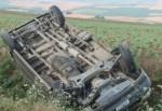 Tekirdağ'da askeri araç devrildi: 4 yaralı