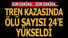Tekirdağ'daki tren kazasında ölü sayısı yükseldi!