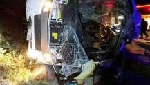 TEM otoyolunda korkunç kaza! 2 ölü 17 yaralı.