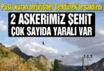 Tendürek Dağı'nda çatışma: 2 şehit