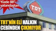 TRT'nin 2020'deki gelirlerinin yüzde 88'i vatandaşın cebinden çıktı