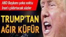 Trump öldürülen General Kasım Süleymani'ye küfür etti