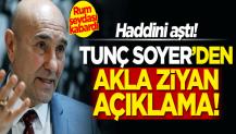 Tunç Soyer'in 'Rum' sevdası kabardı! Akla ziyan 'Kıbrıs' açıklaması
