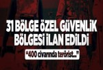 """Tunceli'de """"özel güvenlik bölgesi"""" uygulaması."""