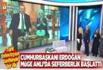 Türk televizyon tarihinde bir ilk! Erdoğan canlı yayında seferberlik başlattı.