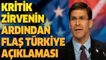 Türkiye NATO'nun vazgeçilmez bir parçası.