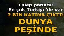 Türkiye sessiz devrim yapıyor! Verim 2 bin katına çıktı...