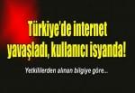 Türkiyede internet yavaşladı, kullanıcı isyanda!