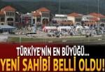 Türkiye'nin en büyüğü... Yeni sahibi belli oldu