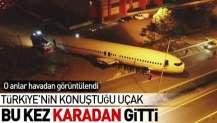 Türkiye'nin konuştuğu uçak böyle götürüldü