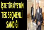 Türkiye'nin tek seçmenli sandığı