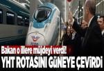 Ulaştırma Bakanı açıkladı: O ile hızlı tren geliyor