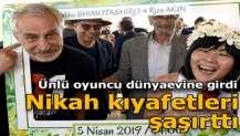 Ünlü oyuncu Adana'da dünyaevine girdi