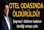 Ünlü sunucu Vatan Şaşmaz Beşiktaş'ta bir otelde öldürüldü!