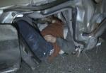Uşak'ta kaza: 1 ölü, 2 yaralı