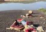 Uyarı levhası olmayan yolda otomobil sulama göletine girdi: 4 ölü, 1 kayıp