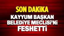 Van Kayyum Başkanı, Belediye Meclisi'ni feshetti