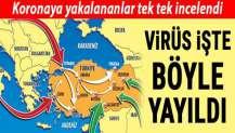 Virüs işte böyle yayıldı! Koronavirüsün Türkiye seyahati