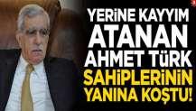 Yerine kayyım atanan Ahmet Türk sahiplerinin yanına koştu!
