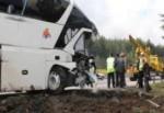 Yolcu otobüsü kaza yaptı 5 ölü