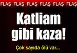 Yozgat'ta katliam gibi kaza!