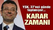 YSK İstanbul kararı için toplanacak