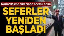Yüksek Hızlı Tren (YHT) seferleri yeniden başladı