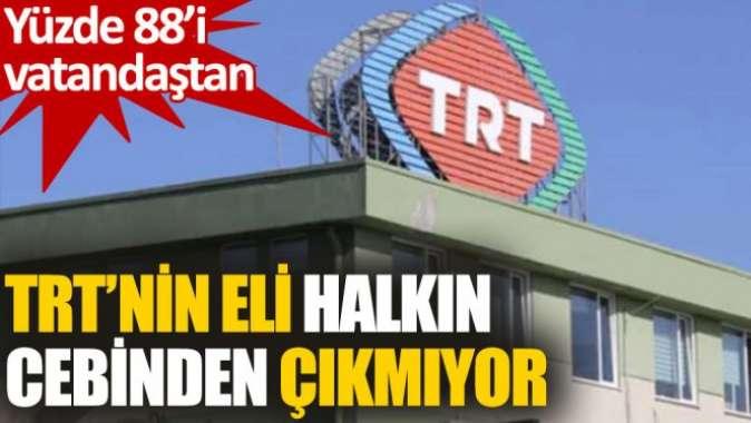 TRT'nin 2020deki gelirlerinin yüzde 88'i vatandaşın cebinden çıktı
