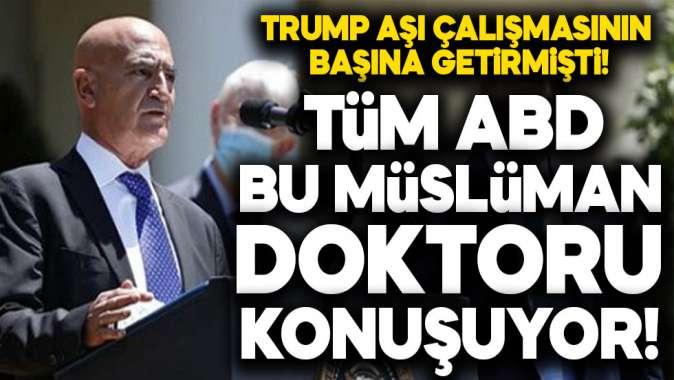 Tüm ABD bu Müslüman doktoru konuşuyor!