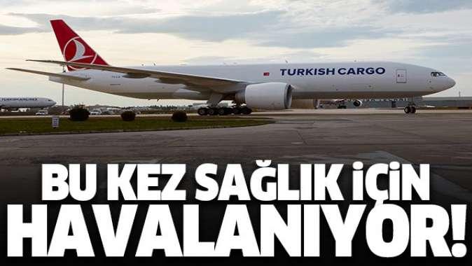 Turkish Cargo sağlıklı bir dünya için yükseliyor